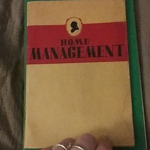 Rumford book on home management